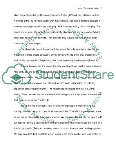 Quetions essay example