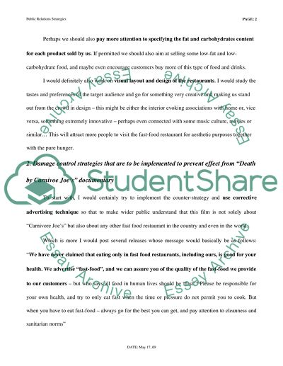 Public Relations Assignment (Press Release)