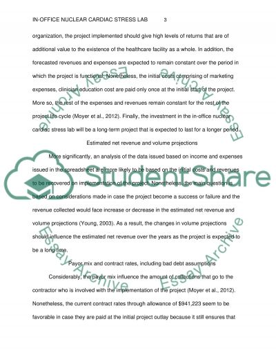In-Office Nuclear Cardiac Stress Lab essay example