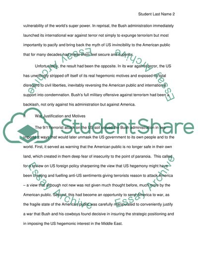 Essay On Religion And Science The American People In The Usled Afghanistan And Iraq War International Business Essays also English Essays Examples The American People In The Usled Afghanistan And Iraq War Essay Proposal Essay Examples