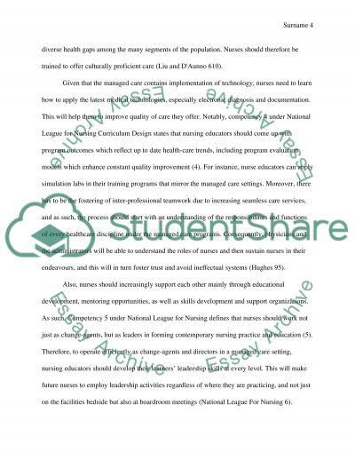 mentorship essay nursing