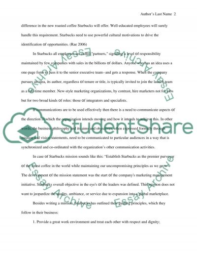 Introduction; Vision, Mission, and Stakeholders essay example