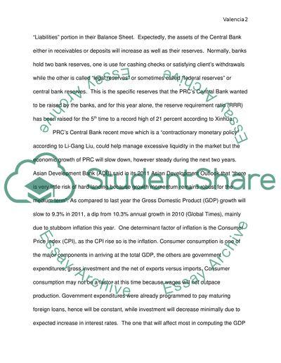 Macro & Micro Economics Of PRC