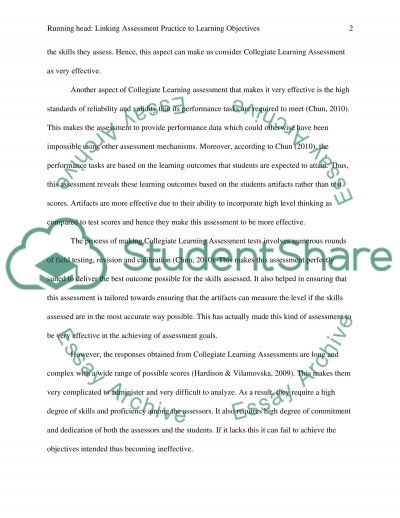 Linking pedagogy and assesment practices essay example