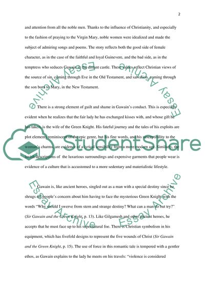 Science And Literature Essay Sir Gawain And The Green Knight Essay Proposal Examples also Best Essays In English Sir Gawain And The Green Knight Essay Example  Topics And Well  How To Write A Business Essay