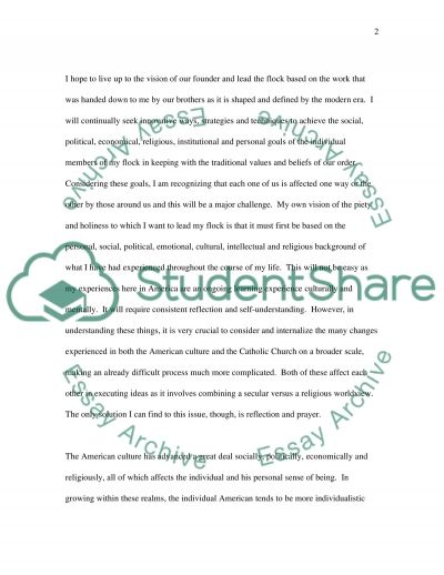 Reflection Paper essay example