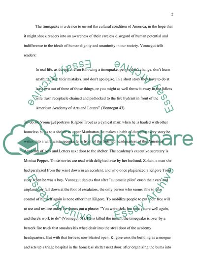 Life After High School Essay Analytical Book Review Of Time Quake By Kurt Vonnegut High School Graduation Essay also Jane Eyre Essay Thesis Analytical Book Review Of Time Quake By Kurt Vonnegut Essay Interview Essay Paper