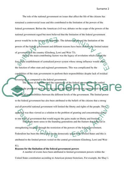 Analytical Essay #1