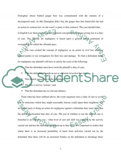 LAW OF TORT 2- DEFAMATION essay example