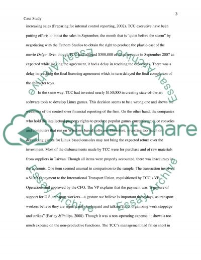 Toy Central Corporation essay example