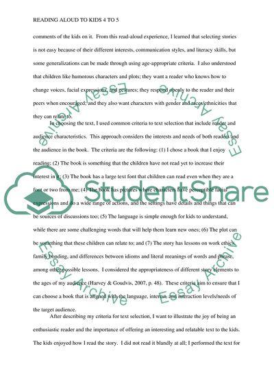 Read-Aloud Project