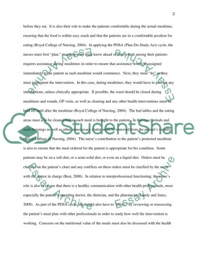 Reflective Commentary: Interprofessional Practice essay example
