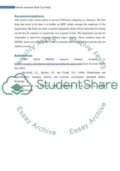Management Concepts - Case Study essay example