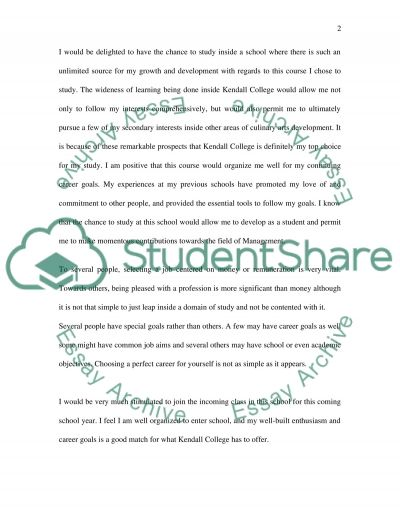 Personal Development and Education essay example