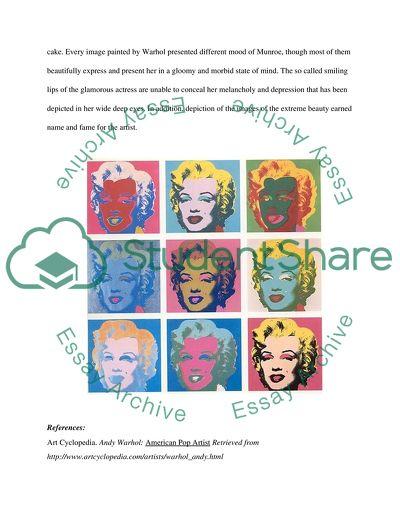 Andy Warhol - Visual Art