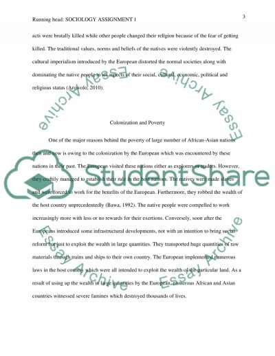 Sociology assignment 1
