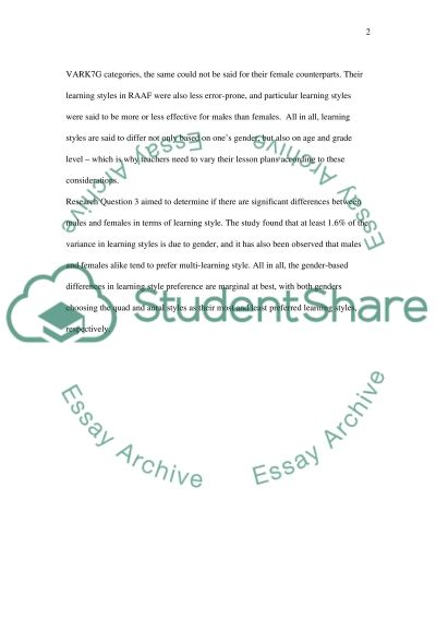 Conclusion Chapter essay example