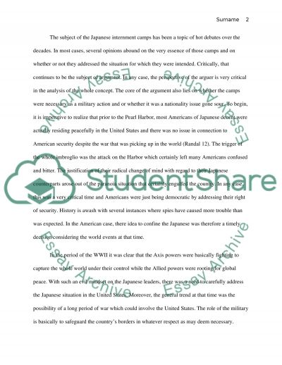 japanese internment essay thesis Starting essay with question japanese internment october 29, 2018 by leave a comment  essay for college year 6 comments on article review ulcerative colitis writing 9 band essay advantage what beauty is essay marketing management thesis in research paper example reading, essay on indian english fiction good lies essay longer digital india.