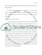 Market Communication - Integrated Marketing Communication Plan Essay example
