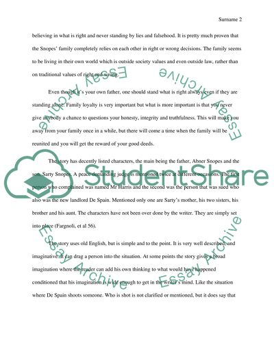 Write An Analysis On The Story Barn Burning By William Faulkner Essay Write An Analysis On The Story Barn Burning By William Faulkner College English Essay Topics also Essay Vs Paper  Essay Paper Generator