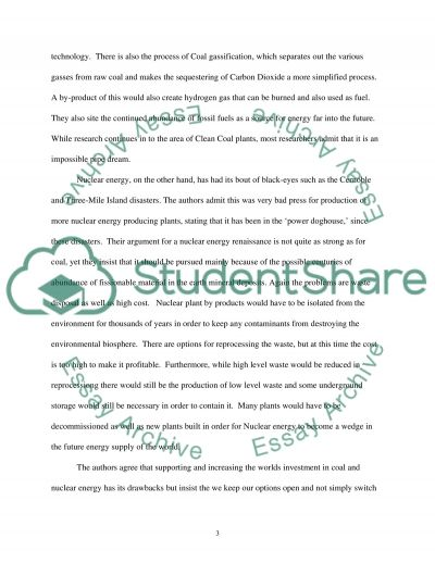 Article Review essay example