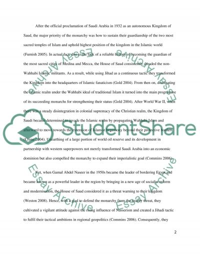Islamist and historical essay example