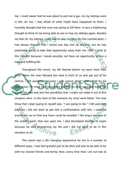 Narrative Writing Description Midnight Scare Essay Narrative Writing Description Midnight Scare