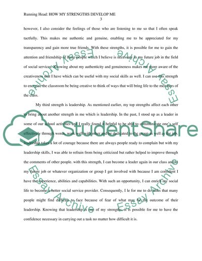 my personal strengths essay example  topics and well written essays  my personal strengths
