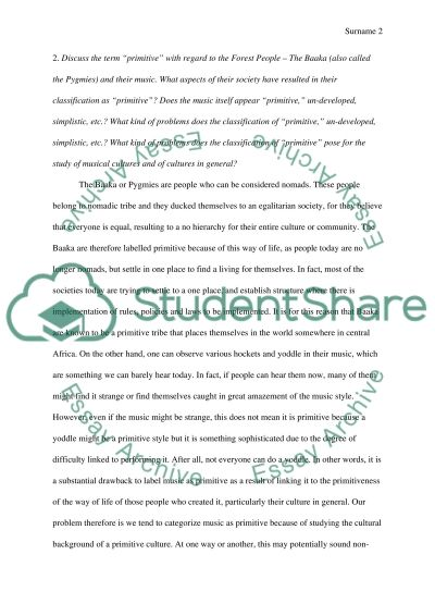 read  chapter Three  3 and answer the questions Essay example