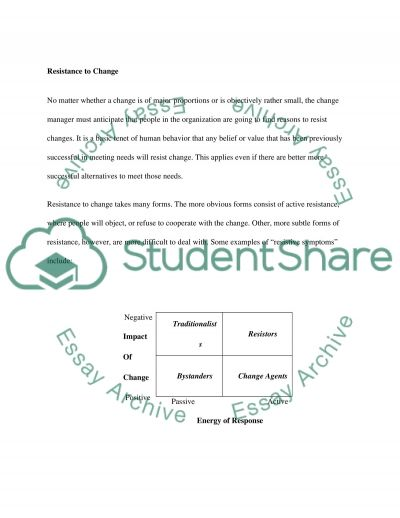 Implementing Change in Healthcare essay example