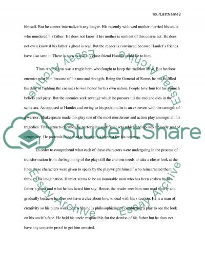 Ethics Essays The Indepth Analysis Of The Characters Hamlet And Titus Andronicus Fear Definition Essay also Social Class Essays The Indepth Analysis Of The Characters Hamlet And Titus Andronicus  Steps To Writing A Narrative Essay