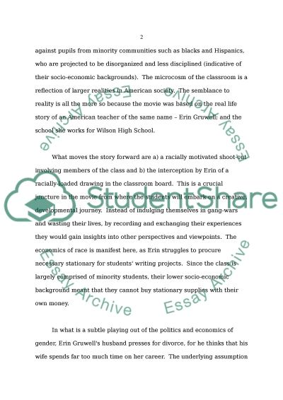 Thesis statement on race and gender