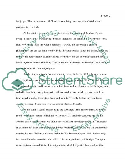 the apology of socrates essay example topics and well written the apology of socrates essay example