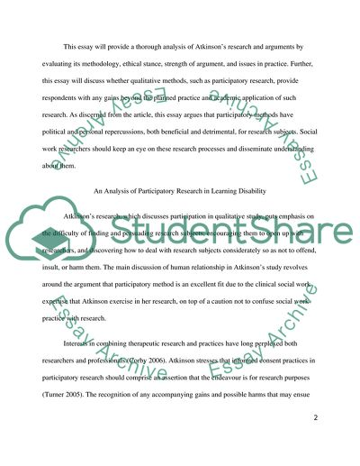 disability essay topics