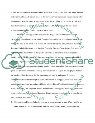 Introduction to Philosophy essay example