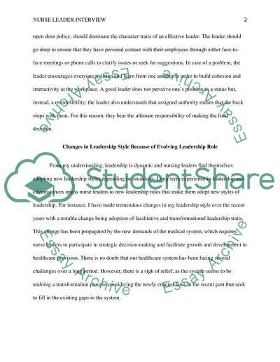 Essay On Leadership Nursing  Why Good Leadership Is Important In  Essay On Leadership Nursing