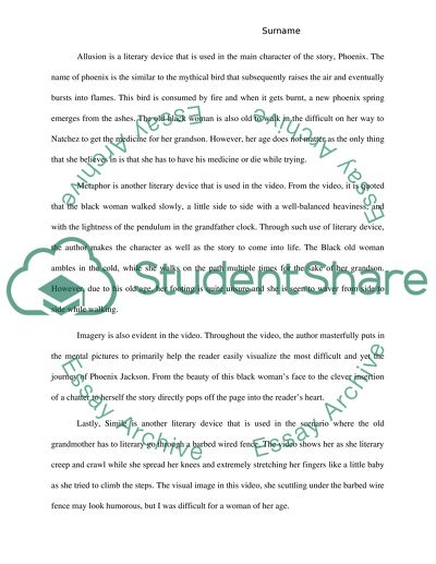 Analysis essay the necklace