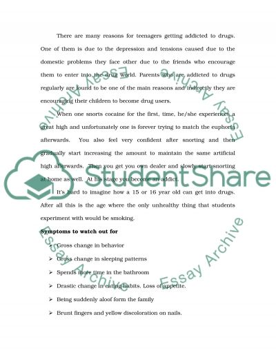 Drugs : should their sale and use be legalized essay example