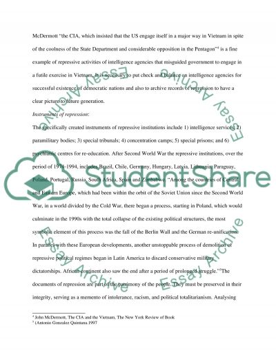 Security Intelligence essay example