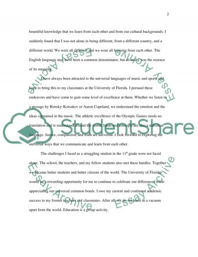 Education as a Group Activity essay example