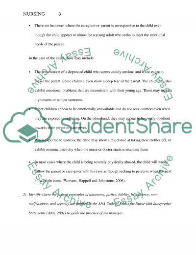 Unit four essay example