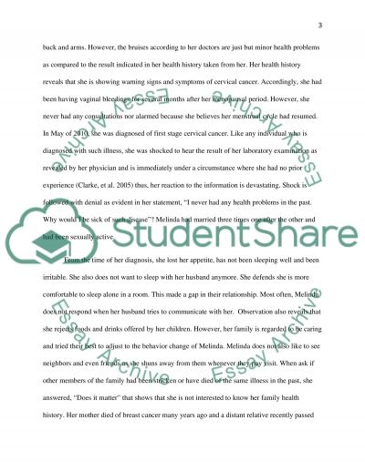 Counseling Essay example