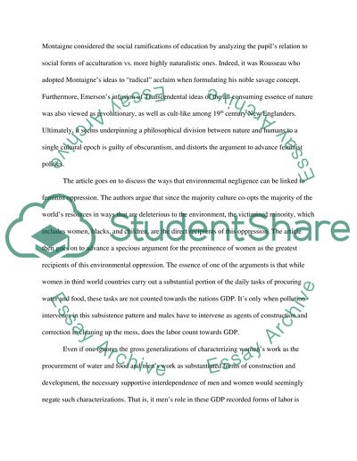 introduction to theme essay