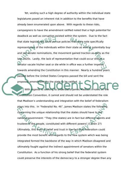 th amendment essays