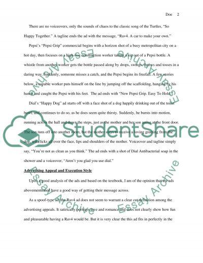 Marketing Communication Assignment essay example