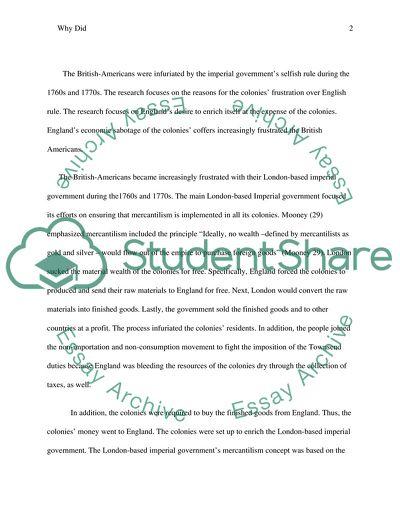History Essay #4