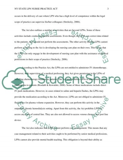advance nurse practice essay Advanced practice nursing order description assignment: write response paper #2 (two pages text max) this paper requires referencing include an apa formatted cover page and submit in the appropriate drop box.