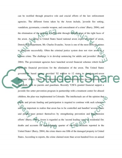 Definition of Acrson essay example