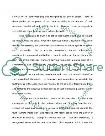 Humanities Essay essay example