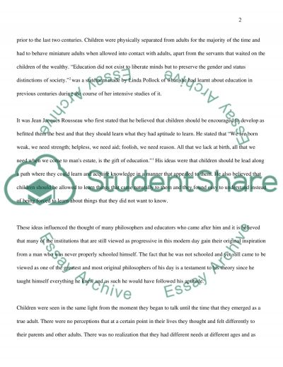 Children as Equal Family Members Essay example